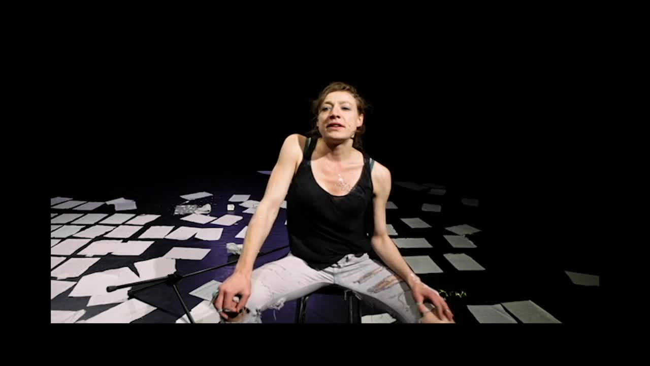 """Vidéo """"Il n'y a pas de certitude"""" de Barbara Métais-Chastanier, mise en scène Kéti Irubetagoyena, teaser"""