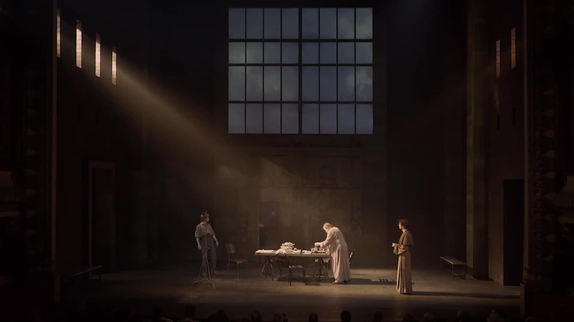"""Vidéo """"La Vie de Galilée"""", Bertolt Brecht, Claudia Stavisky - Extraits"""