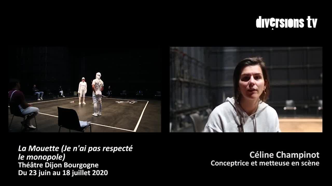 """Vidéo """"La Mouette (Je n'ai pas respecté le monopole"""") d'après Anton Tchekhov, conception et mise en scène Céline Champinot (bande-annonce)"""