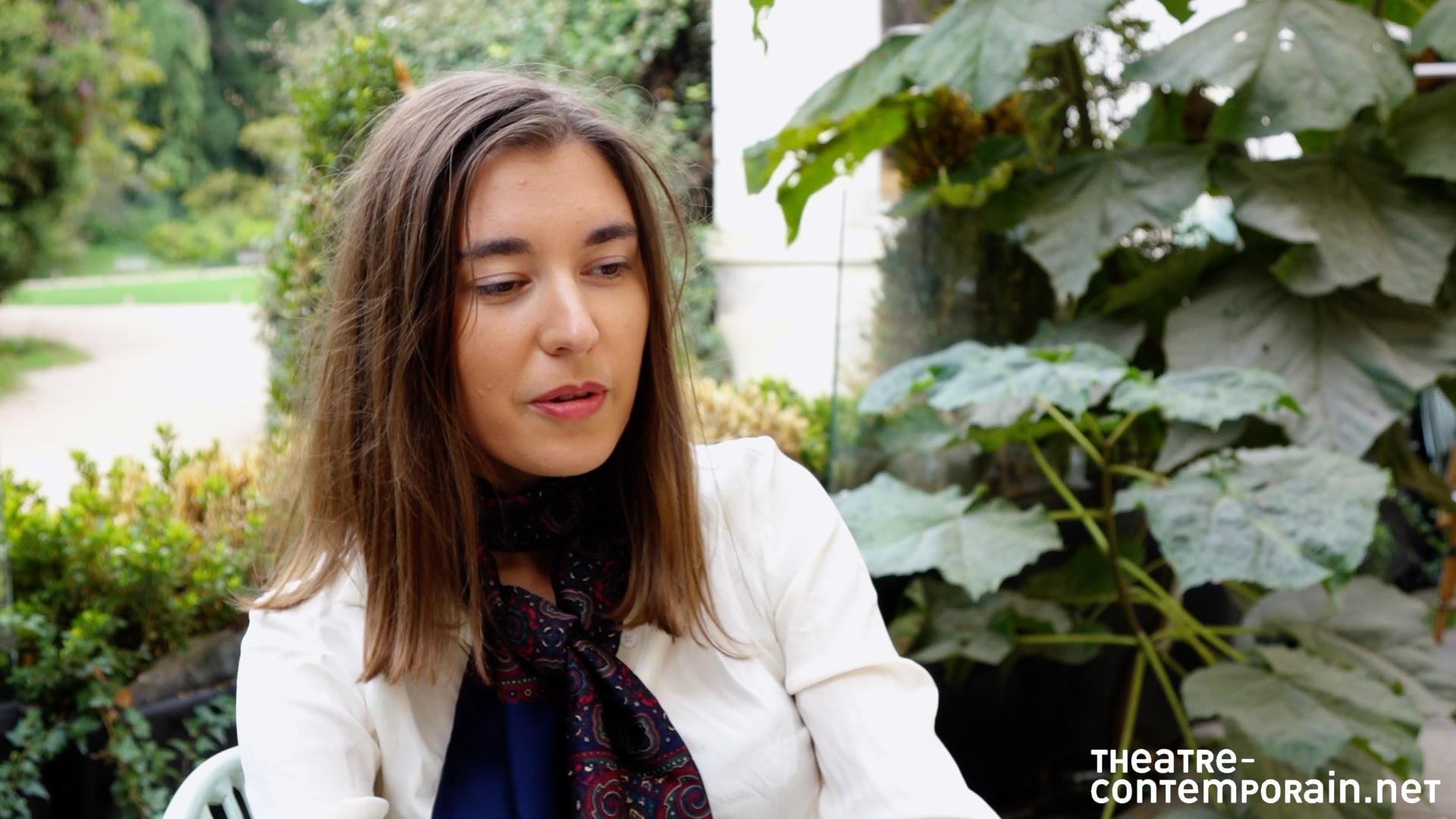 Ariane Von Berendt / La découverte du théâtre