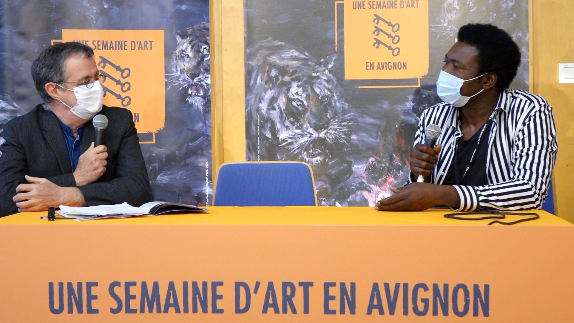 """Vidéo Étienne Minoungou pour """"Traces"""""""
