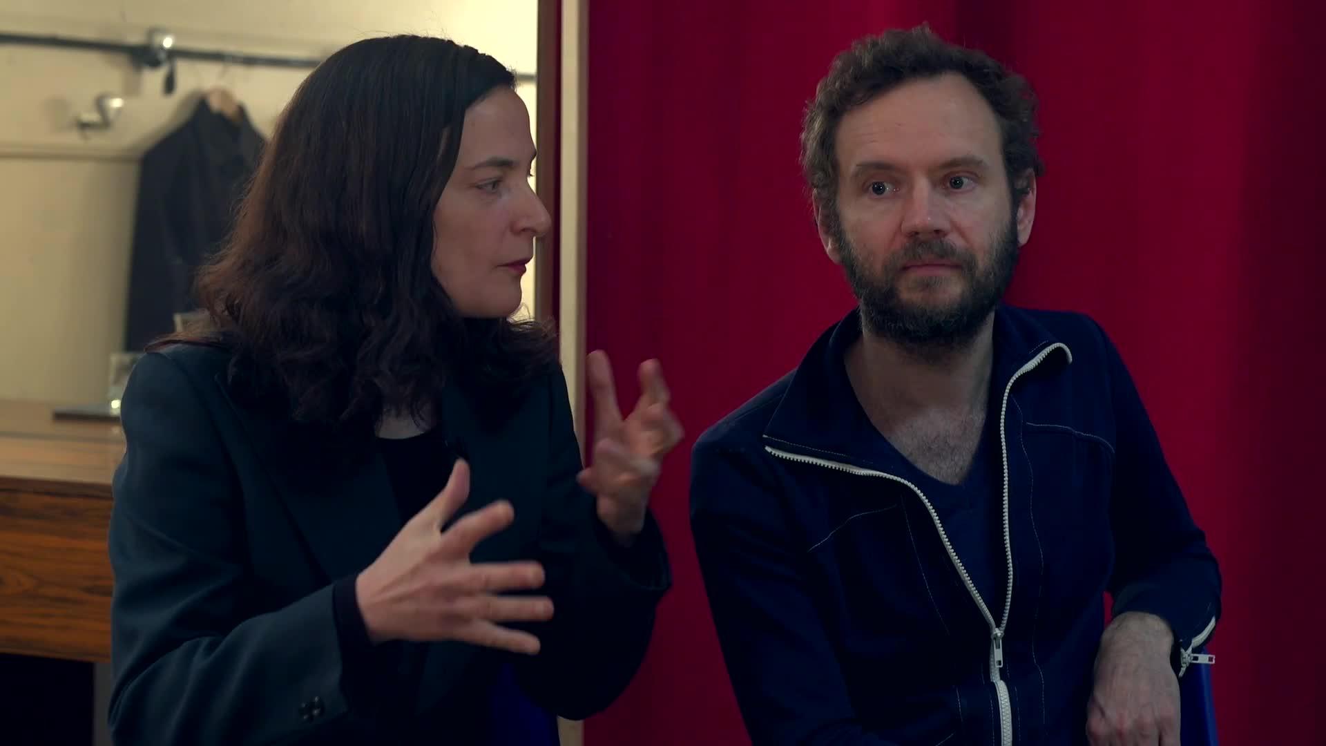 """Vidéo """"Dans la peau de Don Quichotte"""" - Entretien avec Métilde Weyergans et Samuel Hercule"""
