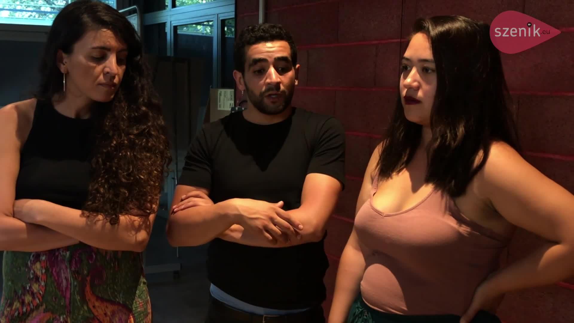 """Vidéo """"Andromaque à l'infini"""" - Entretien avec Sonia Hardoub, Mehdi Limam et Emika Maruta - Szenik.eu"""