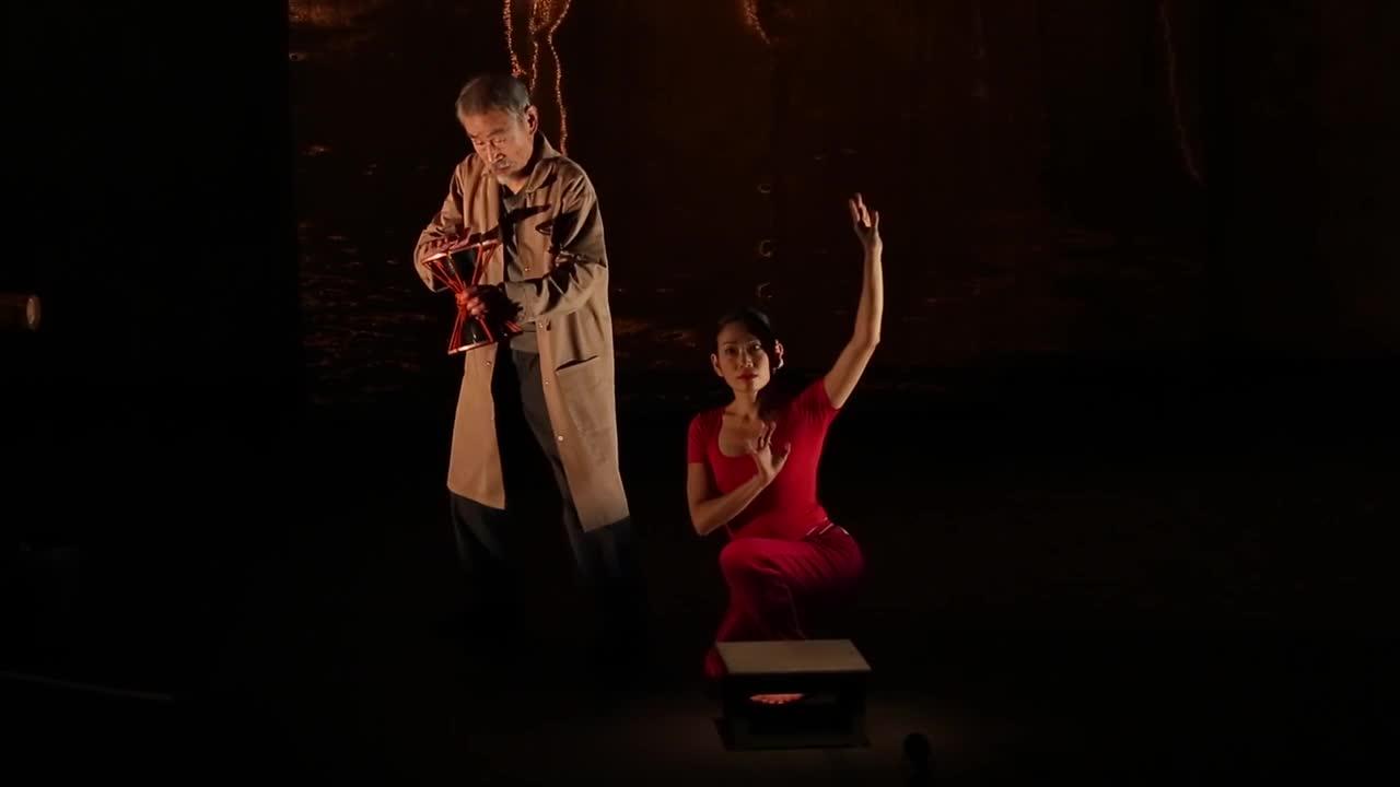 "Vidéo ""Le tambour de soie"", Kaori Ito / Yoshi Oïda - extraits"
