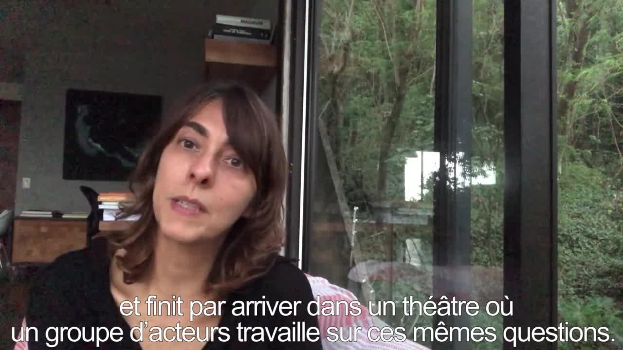 """Vidéo """"Entre chien et loup"""" - Présentation par Christiane Jatahy"""