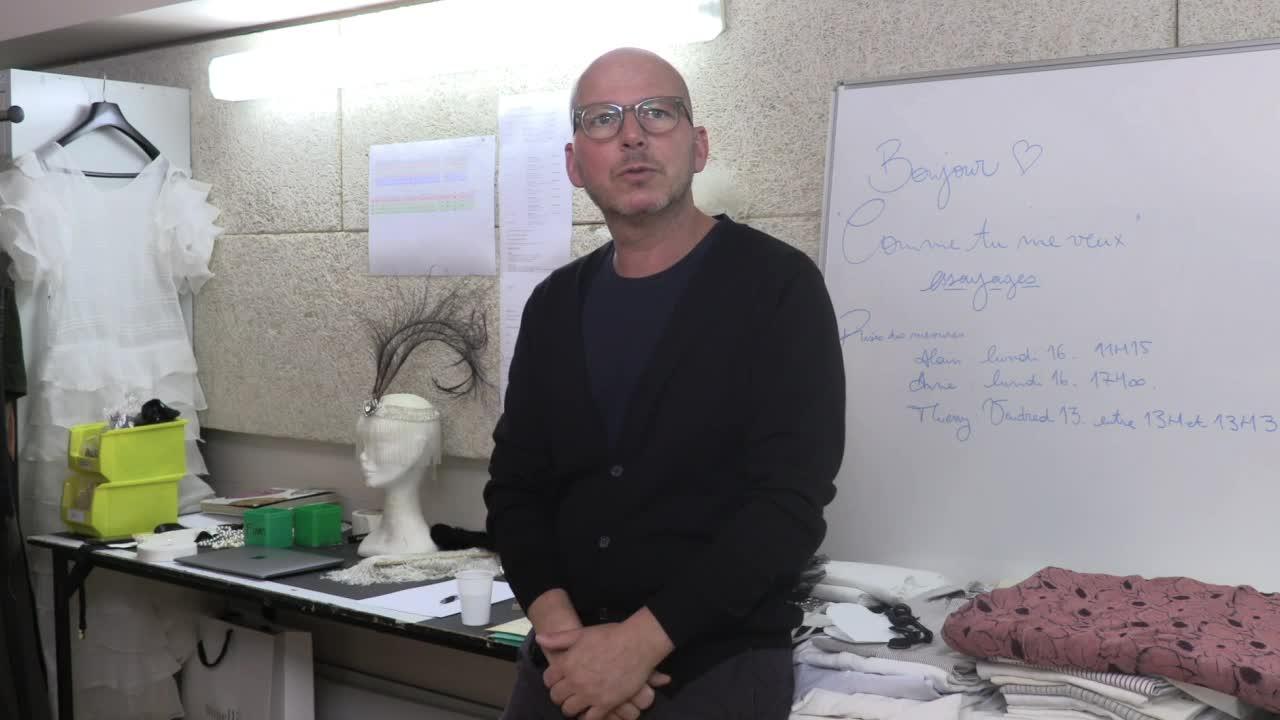 "Vidéo ""Comme tu me veux"" - Luigi Pirandello/Stéphane Braunschweig - Entretien avec Thibault Vancraenenbroeck"
