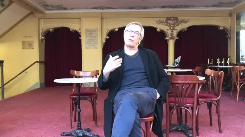 """Vidéo """"J'étais dans ma maison et j'attendais que le pluie vienne"""" de Jean-Luc Lagarce - Rencontre avec François Berreur"""