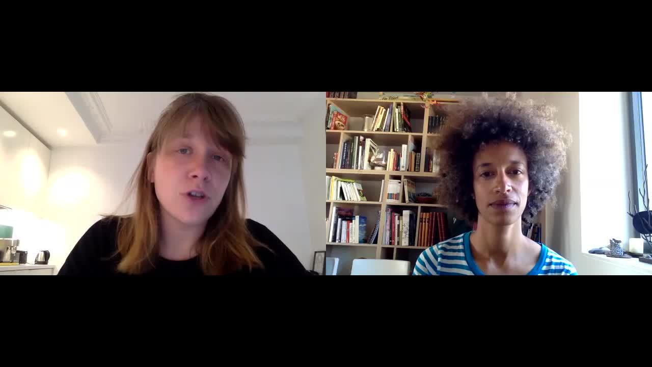 "Vidéo ""Roman(s) National"" - Présentation par Julie Bertin et Jade Herbulot"