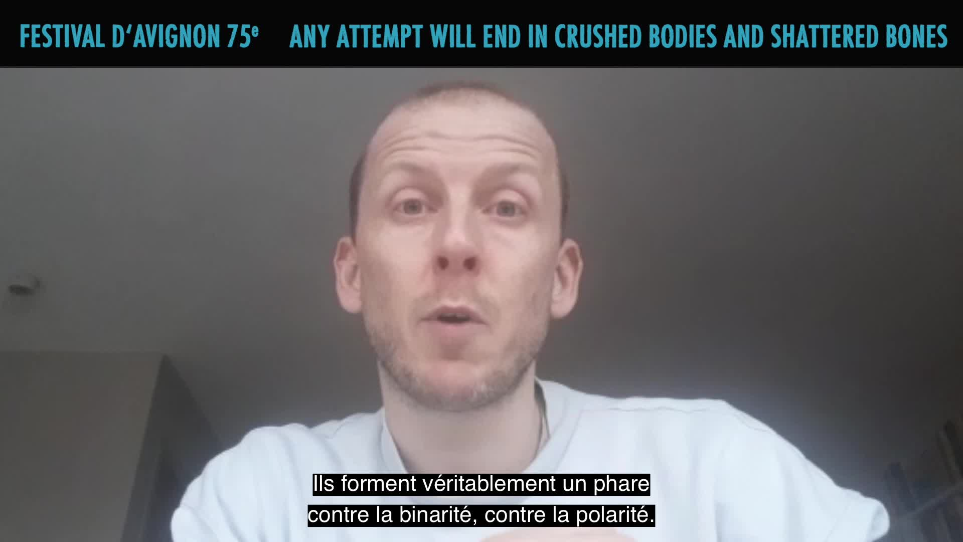 """Vidéo Jan Martens présente """"Any attempt will end in crushed bodies and shattered bones"""""""