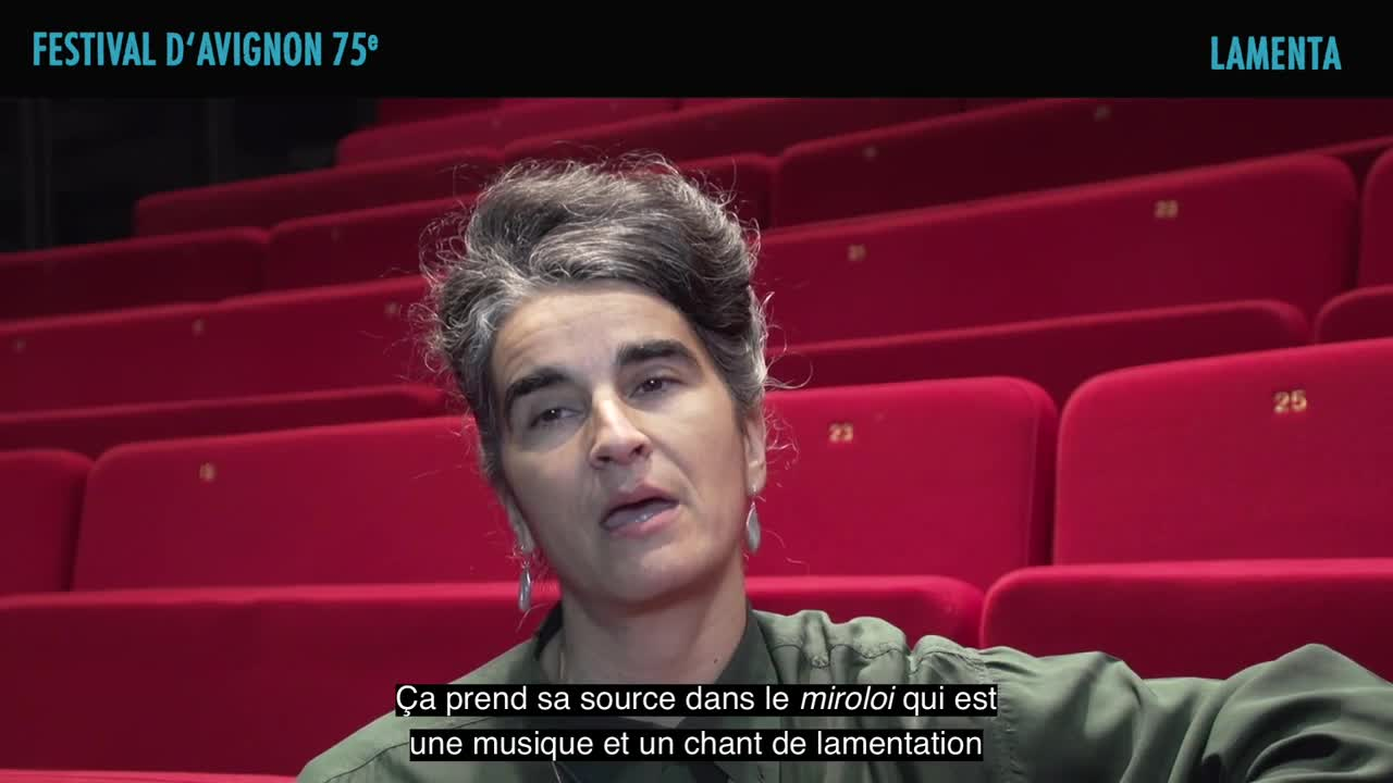 "Vidéo Rosalba Torres Guerrero présente ""Lamenta"""