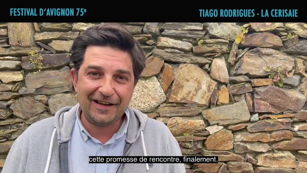 """Vidéo Tiago Rodrigues présente """"La Cerisaie"""""""