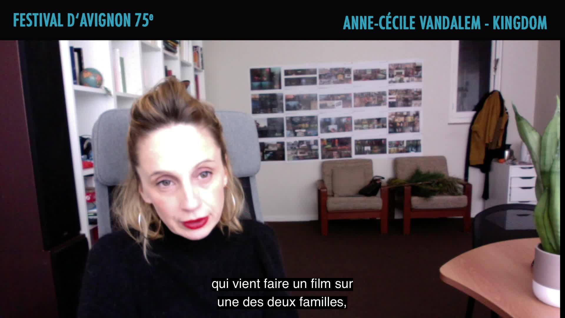 """Vidéo Anne-Cécile Vandalem présente """"Kingdom"""""""