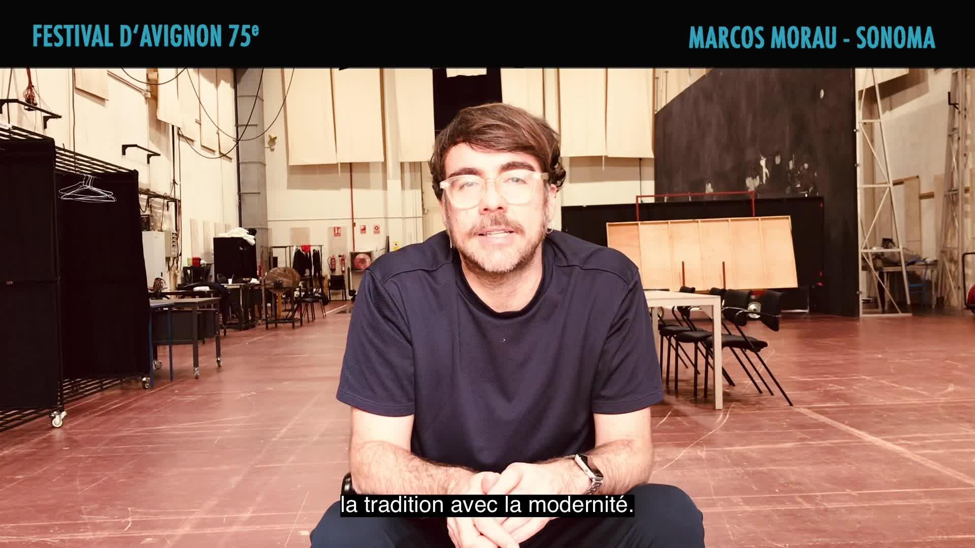 "Vidéo Marcos Morau présente ""Sonoma"""