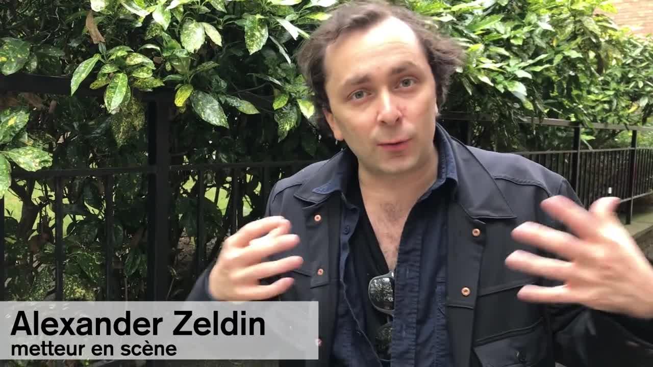 """Vidéo """"Faith, Hope and Charity"""" - Entretien avec Alexander Zeldin"""