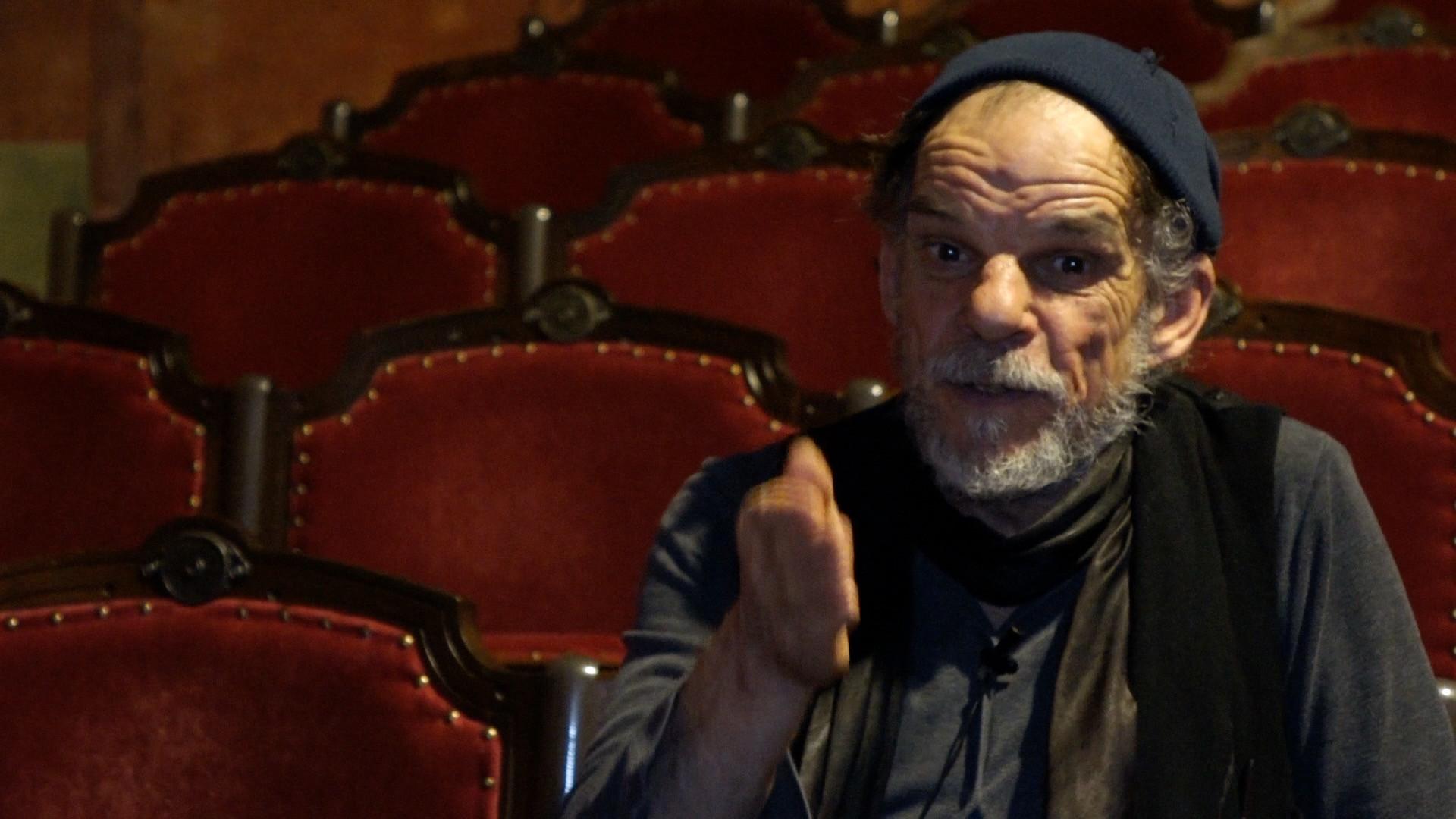 """Vidéo """"L'Image"""", entretien avec Denis Lavant : un «pilote de haute solitude» face au public"""