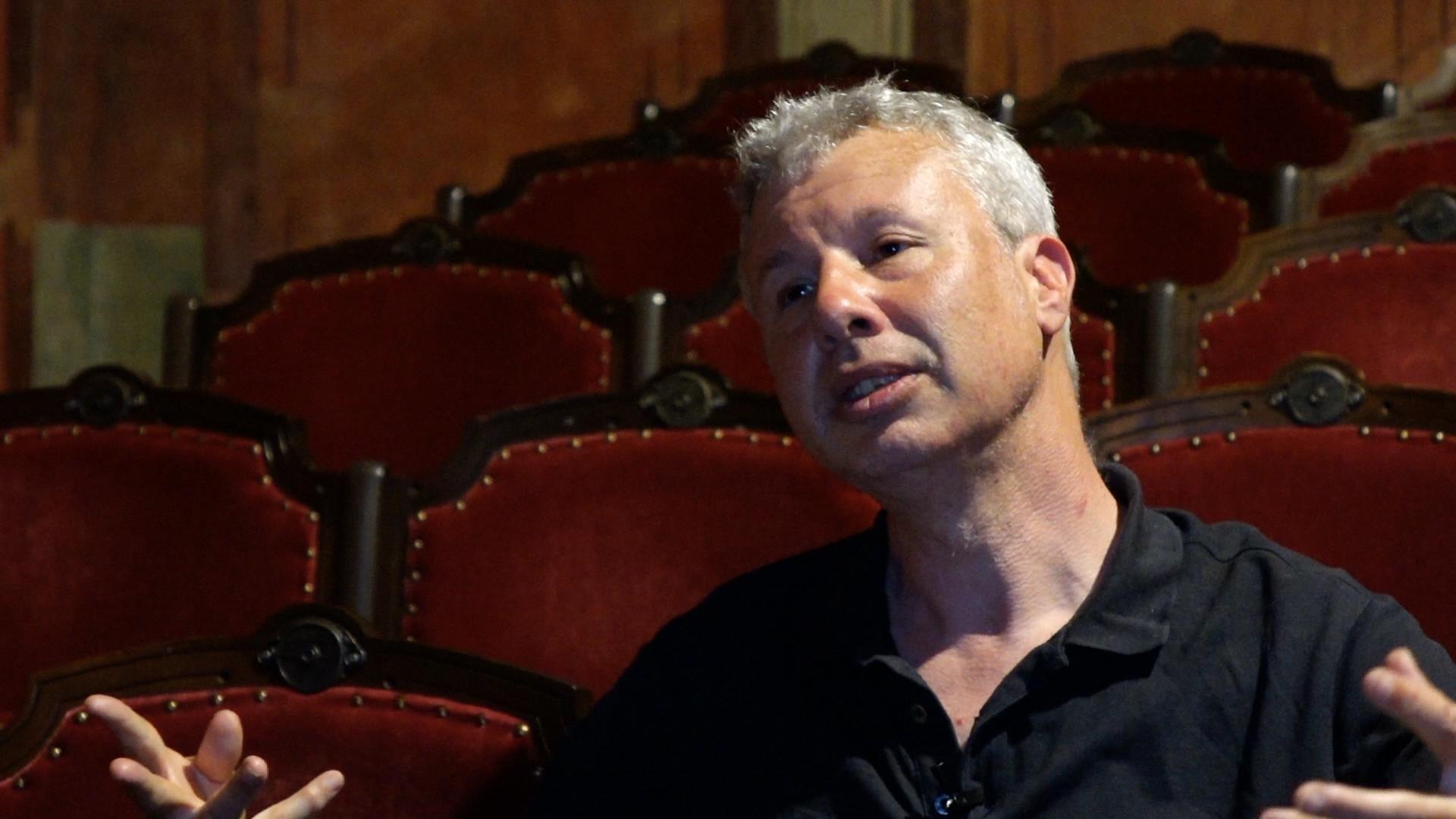 """Vidéo """"L'Image"""", entretien avec Jacques Osinski : le travail de mise en scène, corps, espace, lumières"""