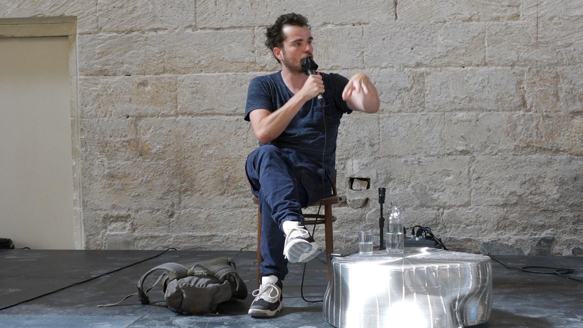 """Vidéo Dialogue avec Baptiste Amann pour """"Des territoires - Trilogie"""""""