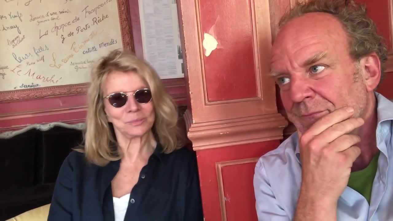 "Vidéo ""Royan"" de Marie NDiaye - Interview de Nicole Garcia & Frédéric Garcia Bélier"