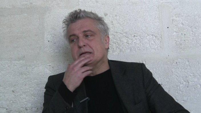 Image de la vidéo O. Cadiot / Le premier texte de théâtre