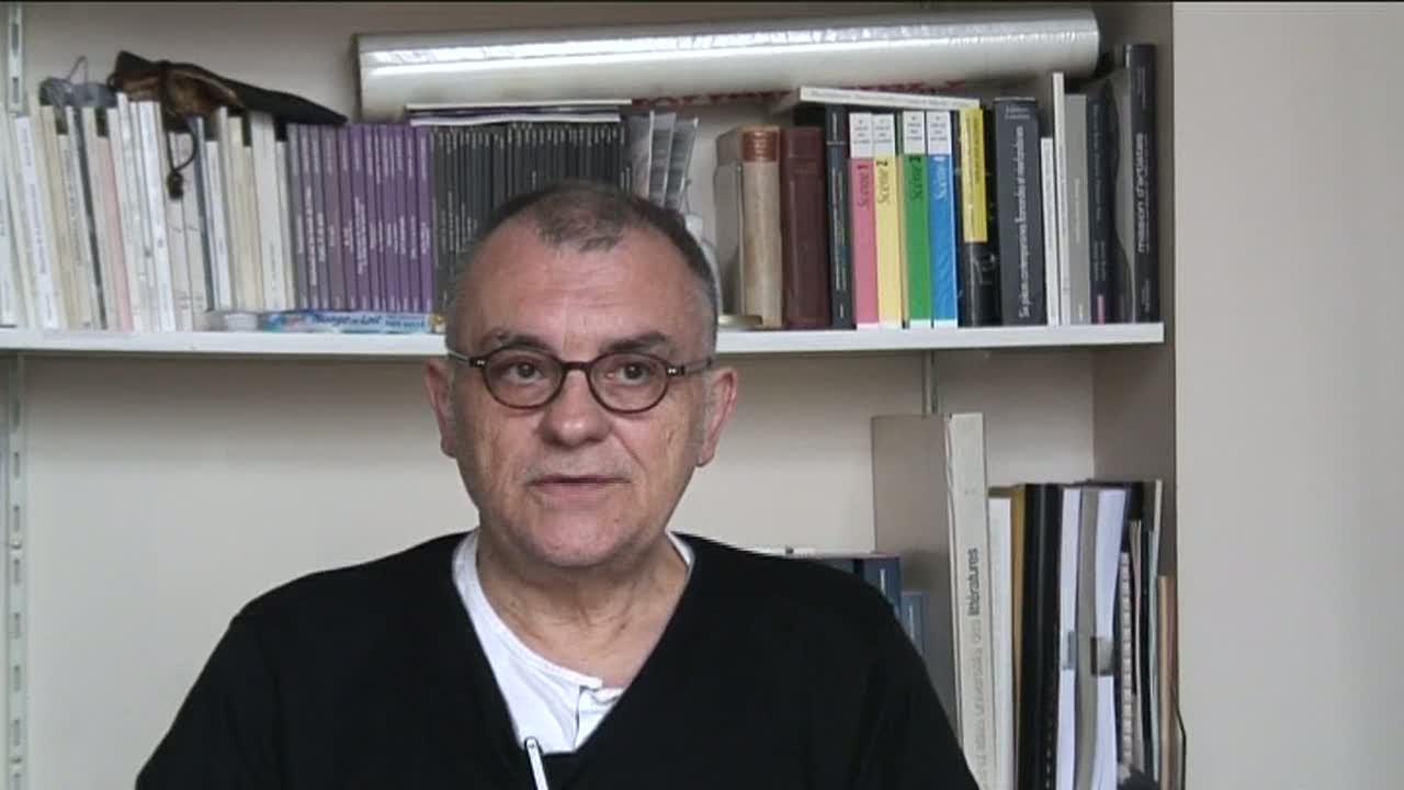 Image de la vidéo P. Minyana / La découverte du théâtre