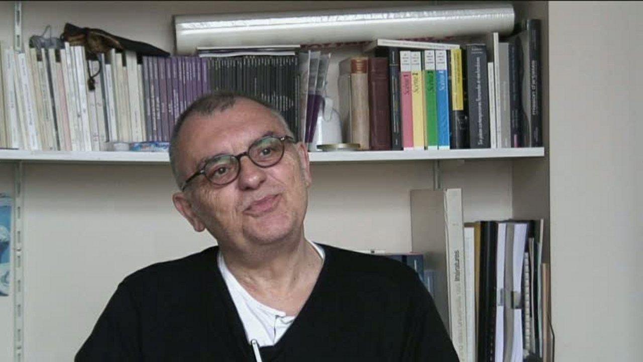 Image de la vidéo P. Minyana / Le premier texte de théâtre