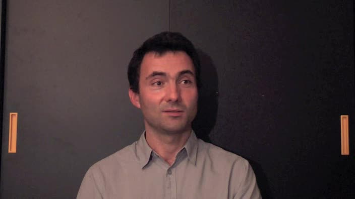 Image de la vidéo Laurent Contamin - question 5 : L'appropriation du texte
