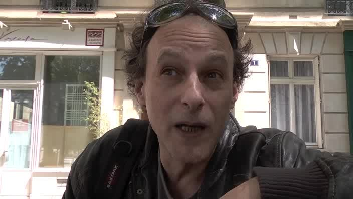 Image de la vidéo Pascal Nordmann - question 2 : Le contexte menant à l'écriture