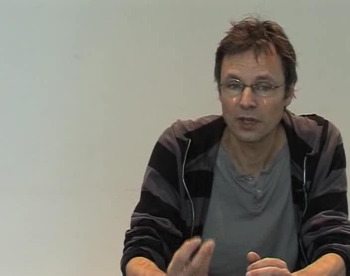Vidéo Entretien avec Daniel Jeanneteau à propos de Bulbus