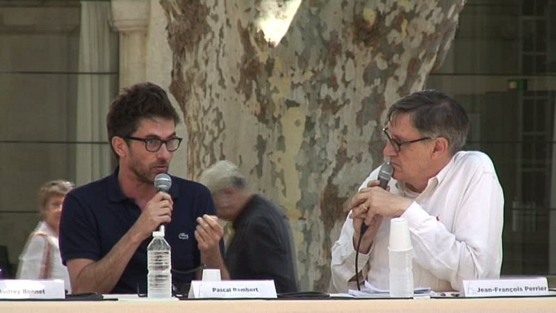"""Vidéo Pascal Rambert pour """"Clôture de l'amour"""""""
