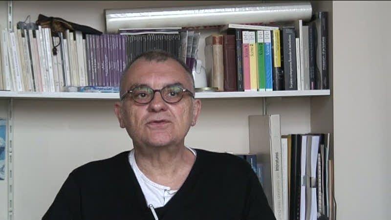 Image de la vidéo Philippe Minyana / L'appropriation du texte