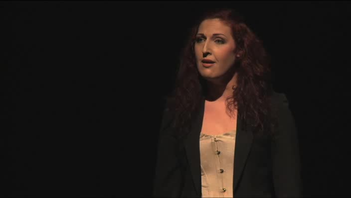 """Vidéo """"Paroles gelées"""", m.e.s. Jean Bellorini, entretien avec Juliette Roudet"""
