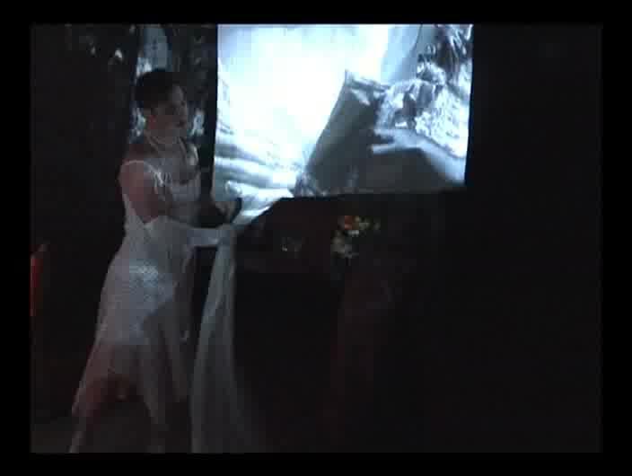 Vidéo L'homme-là de Marc Tamet, chantier de création, extraits (1/3)