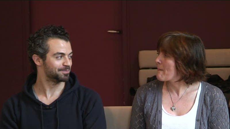 """Vidéo Cécile Backès et Maxime Le Gall pour """"J'ai 20 ans..."""", les auteurs"""