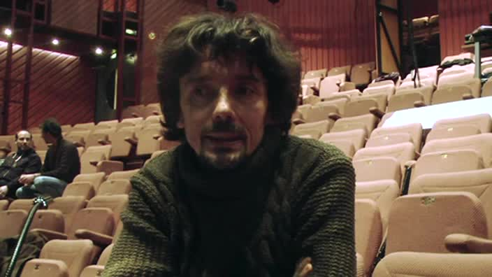 """Vidéo """"Tristesse animal noir"""" - Entretien avec Stanislas Nordey"""