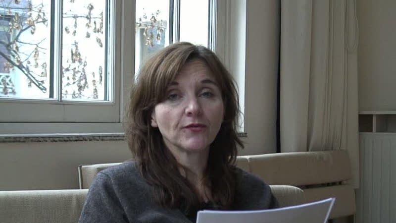 """Vidéo """"Mémoire pleine"""" d'E. Mazev / Lecture d'un extrait par l'auteure"""