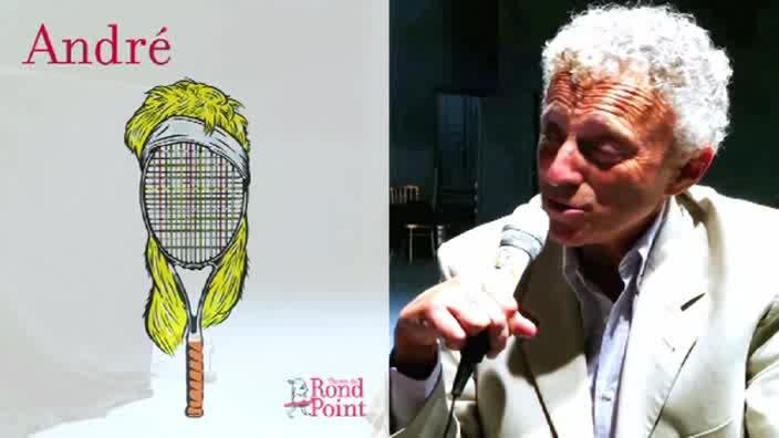 """Vidéo """"André"""", entretien avec Marie Rémond par Nelson Monfort"""