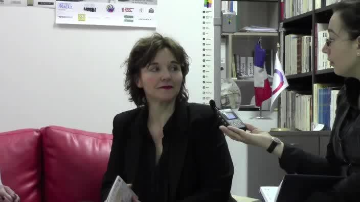 Vidéo Entretien avec Elizabeth Mazev à Varna