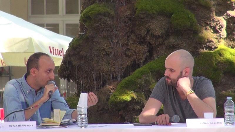 """Vidéo Julien Gosselin pour """"Les Particules élémentaires"""""""