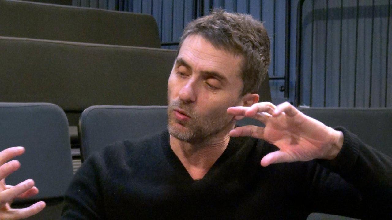 Image de la vidéo Pascal Rambert, l'appropriation du texte