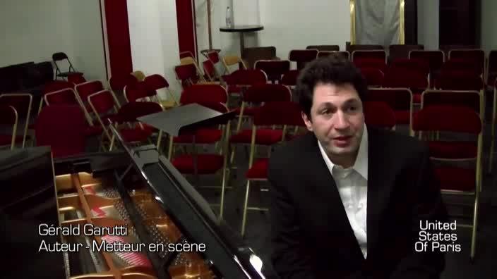 """Vidéo """"Haïm - A la lumière d'un violon"""", entretien avec Gérald Garutti"""