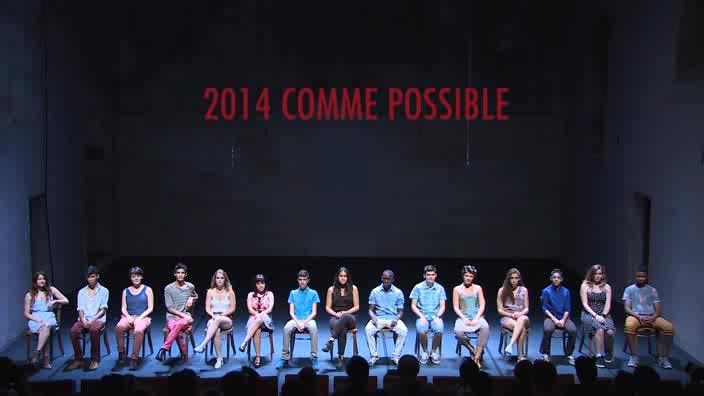 """Vidéo Jeunes critiques en Avignon : """"2014 comme possible"""""""