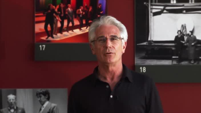 Vidéo Affabulazione, mise en scène Gilles Pastor, présentation par Jean-Pierre Jourdai