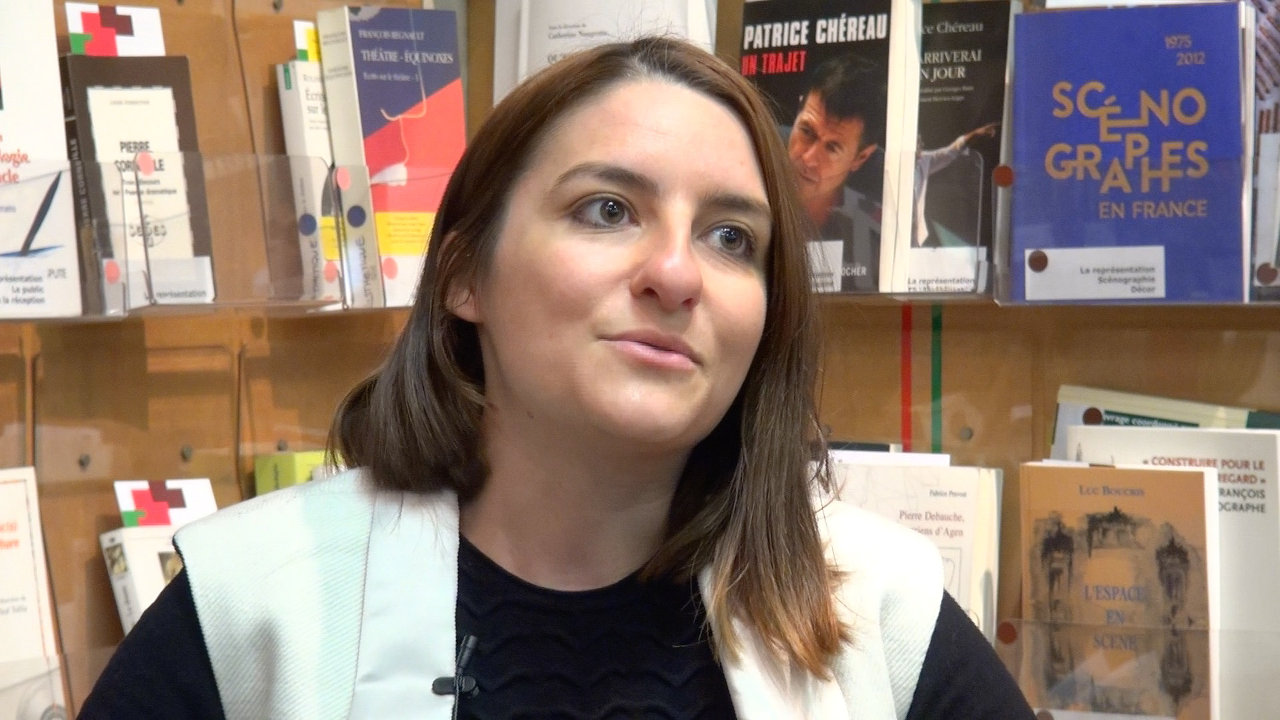 Image de la vidéo Alexandra Badea / La découverte du théâtre