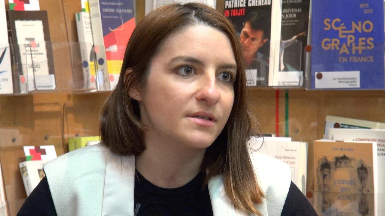 Image de la vidéo Alexandra Badea / Le premier texte de théâtre
