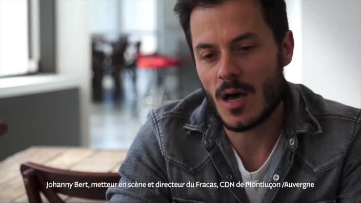 """Vidéo """"De passage"""" de S. Jaubertie, présentation par Johanny Bert"""
