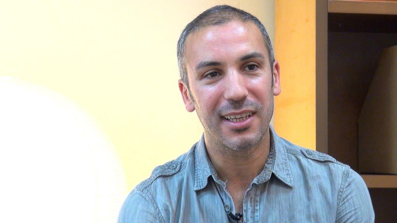 Mohamed El Khatib / La découverte du théâtre