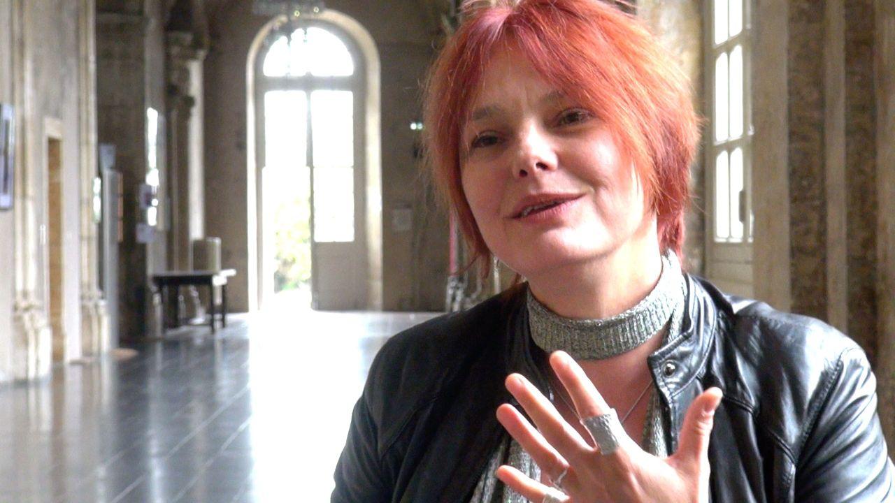 Image de la vidéo Nathalie Fillion / L'appropriation du texte