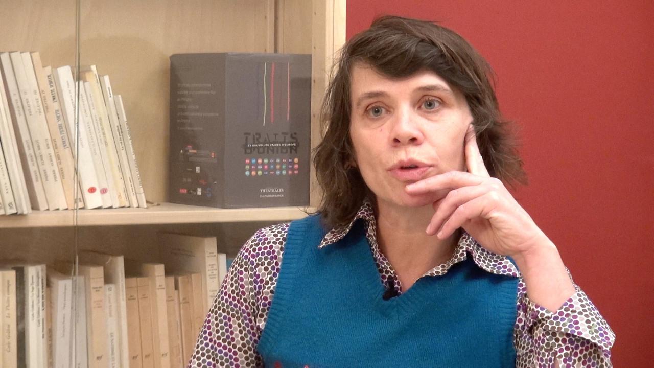 Image de la vidéo Sandrine Roche / Le contexte menant à l'écriture, le premier texte de théâtre