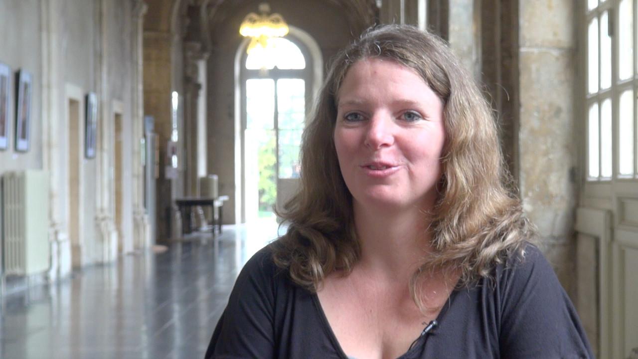 Image de la vidéo Lucie Depauw / L'écriture au jour le jour
