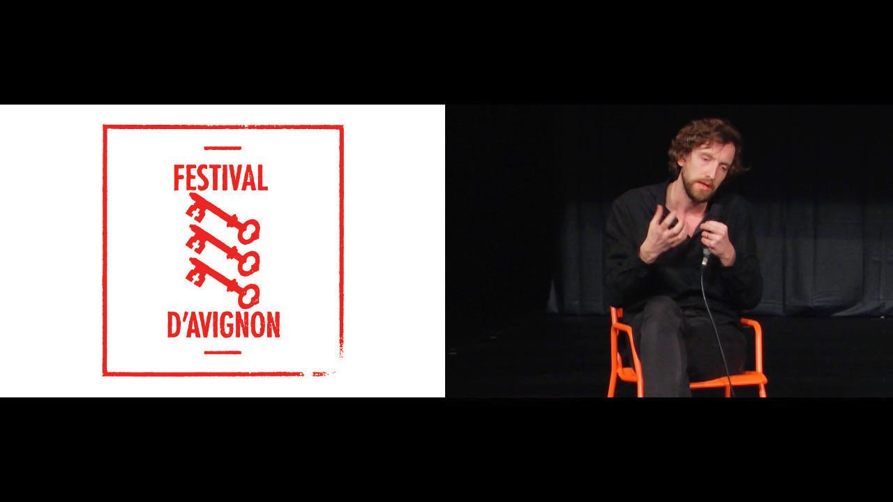 """Vidéo Rencontre avec Jonathan Châtel pour """"Andreas"""""""